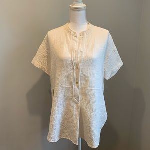Wilfred Doyon Blouse in White/Mineral